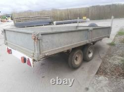 10 ft x 5ft 7inches heavy duty Farmers trailer galvanised
