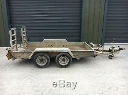 10x6 Indespension Plant Trailer, Digger, Mini Digger, Excavator, Heavy Duty Tyre