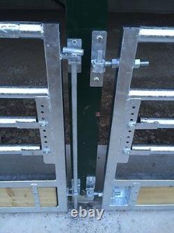 15ft Sheep Feed Barrier Gate Feeder Hurdle Heavy Duty