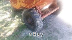 1.7 ton thwaits dumper 4 wheel drive