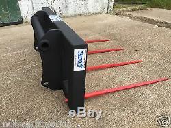 1.8m Heavy Duty Bale Spike (Telescopic Handler / Loader) JCB MATBRO MANITOU