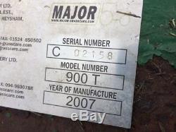 2007 Major 900T 9ft Heavy Duty Trailed Mower Tractor Farm Field