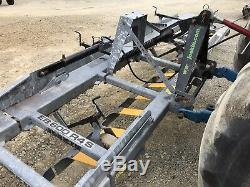 2011 Joskin EB 600 4RS Heavy Duty Hydraulic Folding Grass Harrow Cultivator