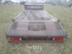 20ft flatbed beavertail lowloader plant trailer project
