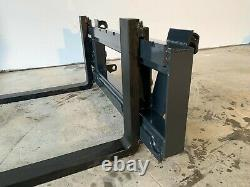 2.0 Ton Pallet Forks Tractor Loader Quicke Euro 8 Brackets £475 + VAT