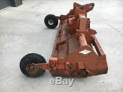 3 Meter Kuhn Rotovator, Tractor PTO Powered, Depth Wheels, Heavy Duty, New Blades