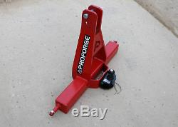 3 Point Linkage Tow Hitch / Towbar Headstock, Heavy Duty Category 2, with Tow Ba