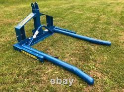 (£428 + VAT) New Fleming HDBBT Heavy Duty Round Bale Tipper / Lifter