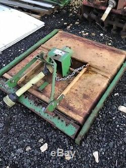 4 Cut Heavy Duty Compact Tractor Topper Front And Rear Roller