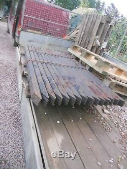 50 fence posts angle iron 1.8m heavy duty metal stakes paddock free delivery