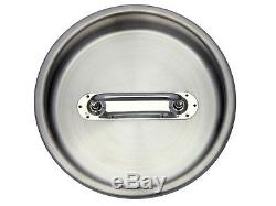 5 Gal. Milk Can Tote (Bail Handle) Stainless Steel 20 Qt. Heavy Duty Sealed Lid