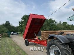6 Tonne tipping Dump Farm Trailer HEAVY DUTY