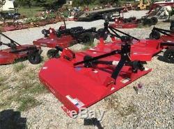 6' Tractor Mower Bush Hog 3pt Hitch Tractor Bushog Mower Heavy Duty