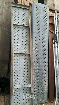 6ft Ifor Williams Trailer Heavy Duty Plant Ramps