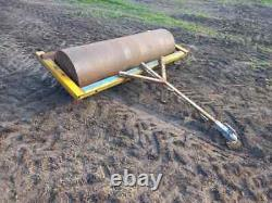 6ft flat roller to suit qaudbike, compact tractor, mule, gator, pickup truck