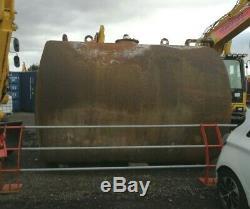 8000 Litre Steel Heavy Duty Diesel Tank