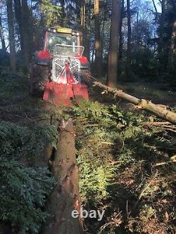 8.5t Tajfun Forestry Winch