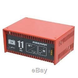 ABSAAR 12V 11A HEAVY DUTY Car Van Tractor Battery Charger FULLY AUTOMATIC