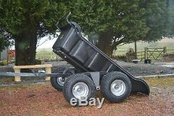 ATV Heavy Duty Tipping Trailer 1500lb Load Capacity £699.99 Inc Vat + eBay fees
