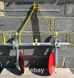 A Frame Potato Ridger and Furrow Plough for compact tractor