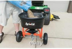 Agri-Fab Lawn Fertilizer Seed Spreader Salt Tow Pull Behind Tractor Broadcast