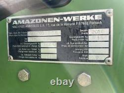 Amazone Groundkeeper Jumbo GHS180 compact tractor flail collector