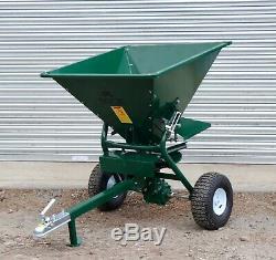 Apache ATV Gritter Spreader, Fertiliser, Salt Gritter, heavy Duty, quad, atv, New