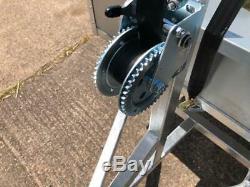 Apache ATV Trailer Groundsman 11OO Trailer Easy Winch Tipping Trailer Heavy Duty
