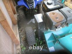 Atvm120 Towable Flail 4' Adjustable. Offset. 420cc. Engine Suit Quad, Tractor