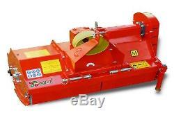 BORA158 Bora Heavy Duty Italian Flail Mower 1.58m Wide For Compact Tractors