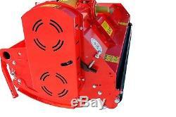 BORA186 Bora Heavy Duty Italian Flail Mower 1.86m Wide For Compact Tractors
