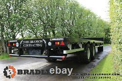 BRADLEYS Bale Trailer 32ft Heavy Duty, 19T Gross New Built to order
