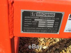 BROWNS EAGLE Flat 8 Bale Grab Heavy Duty, 2016