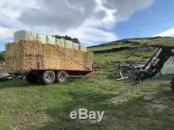 BWA FARM Bale Trailer 22 Foot Heavy Duty