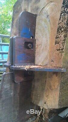 Binderberger 30T Gigant professional log splitter forestry firewood processor