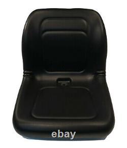 Black High Back Seat for Gravely ZT2760 HD, ZT48 HD, ZT52 HD, ZT60 HD, ZTXL 1634