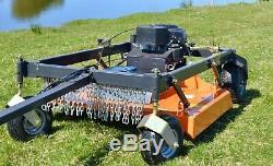 Blitz FBM44 ATV Quad Mower field paddock topper heavy duty rotary Rock Machinery