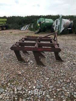 Bomford 8 Leg superflow chisel plough cultivator, subsoiler