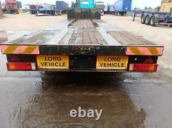 Broshuis Heavy Duty Lowbed Step Frame Flat Trailer, Ror Drums, Air Suspension