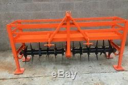 Browns Aerator Spiker Slitter VAT INCLUDED 7'6' Wide Sports Field Turf Drainage