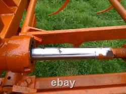 Browns Flat 8 Bale Grab Euro 3 Tractor. Implement. Agriculture. Farming. Loader