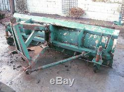 Bunce snow Plough 8ft with 3 point linkage Heavy Duty