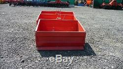 COPMACT TRACTOR TRANSPORT BOX, 3 POINT LINKAGE, HEAVY DUTY 2 size
