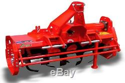 CTR125 Country Italian Heavy Duty Rotary Tiller 1.25m For Compact Tractors