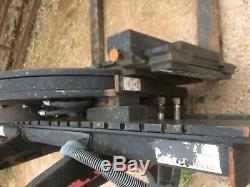 Cascade Heavy duty Rotator box tipper jcb pallet tines
