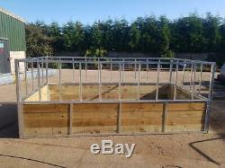Cattle Bale Feeder 5 X 10 Ft Heavy Duty New Made To Order