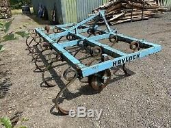 Cultivator. Heavy Duty Pigtail. 3.6 Metre Or 12 Feet. 17 Tines