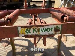 Cultivator harrow scuffle 7legs with 2 depth wheels 5ft wide compact tractor