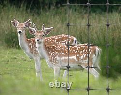 Deer Fencing Mesh Livestock Plastic Fence 1.8m x 100m