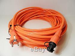 Defa 701109 Mini Plug Power Shore Reinforced Cable 25m For Car Boat Marine